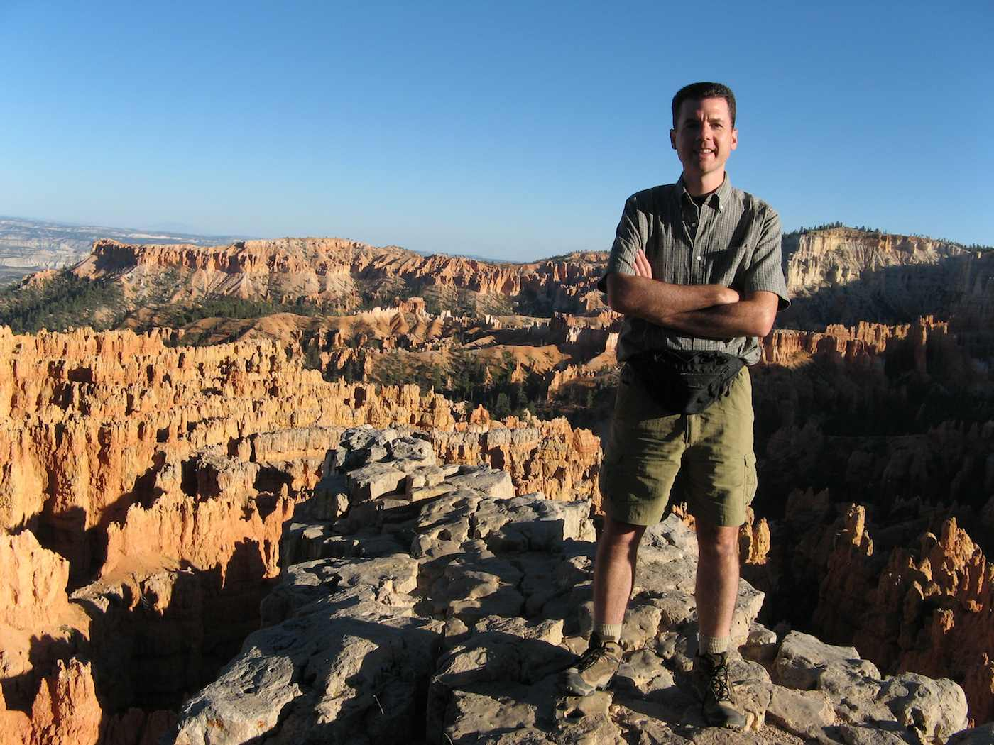 John Hunter, Bryce National Park
