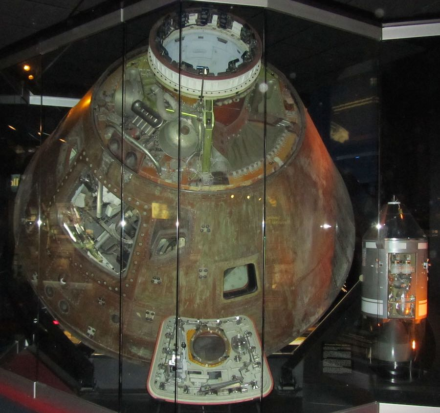 photo of the Apollo 13 Command Module